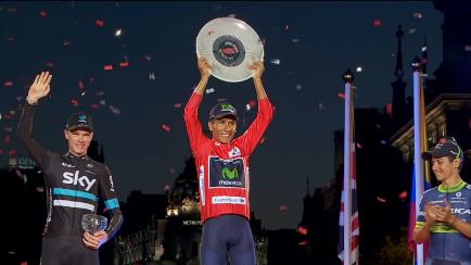 【ブエルタ2016 第21ステージ結果速報】コルトニールセン2勝目!キンタナが初の王者に輝く!