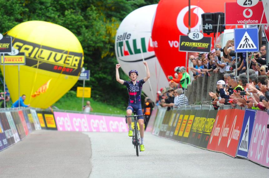 ジロ・デ・イタリアU23(ベビージロ)第7ステージ レポート